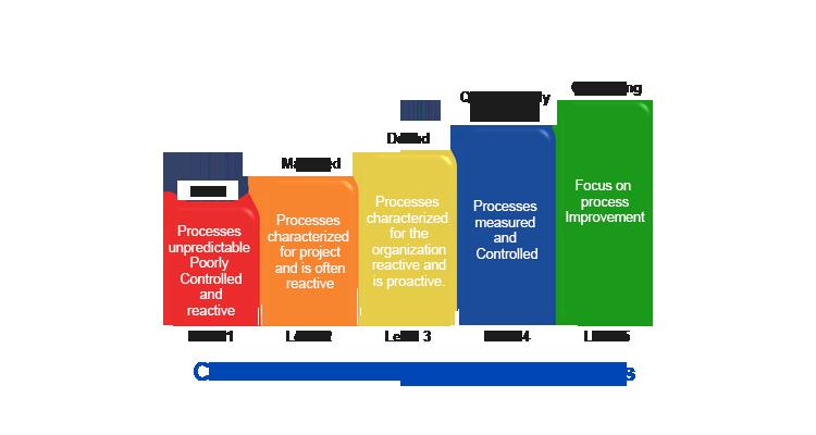 Process maturity model in software development